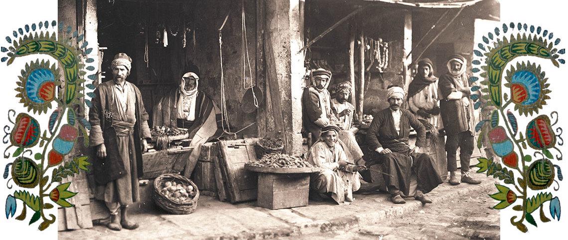 © Houshamadyan_Markt in Urfa_Türkei