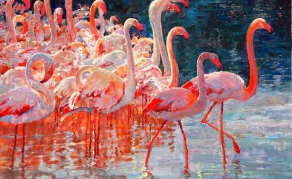 Alan Wolton, 1934, Impressionist painter