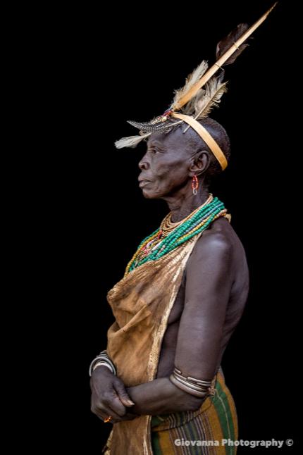 AMARI - Woman from Kara tribe 2 – Giovanna Photography