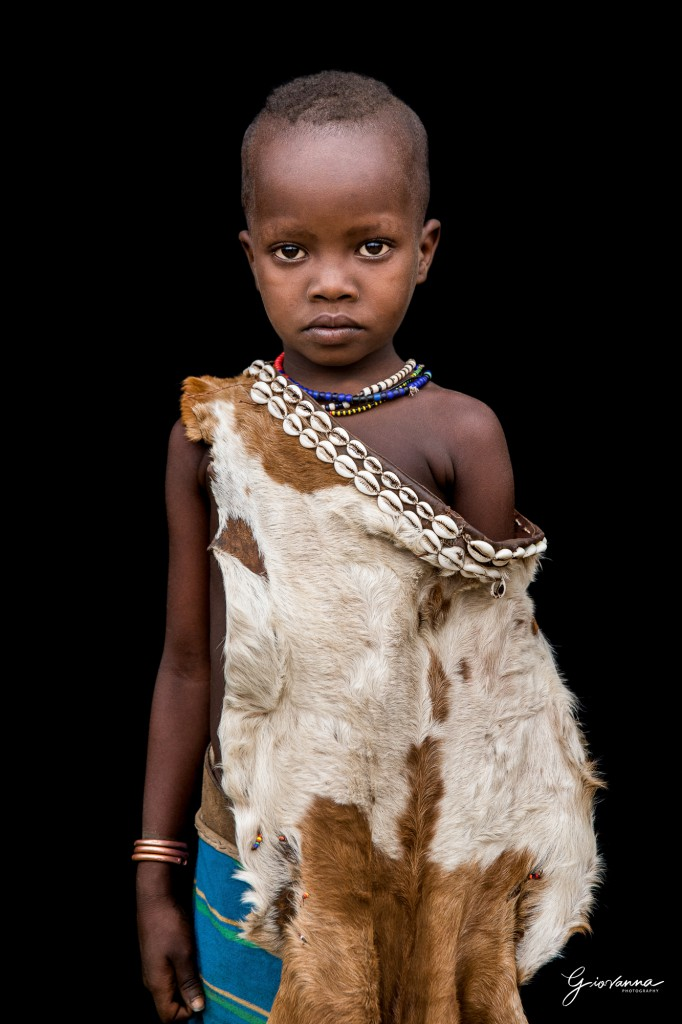 ARLANA - Little girl from Hamar tribe