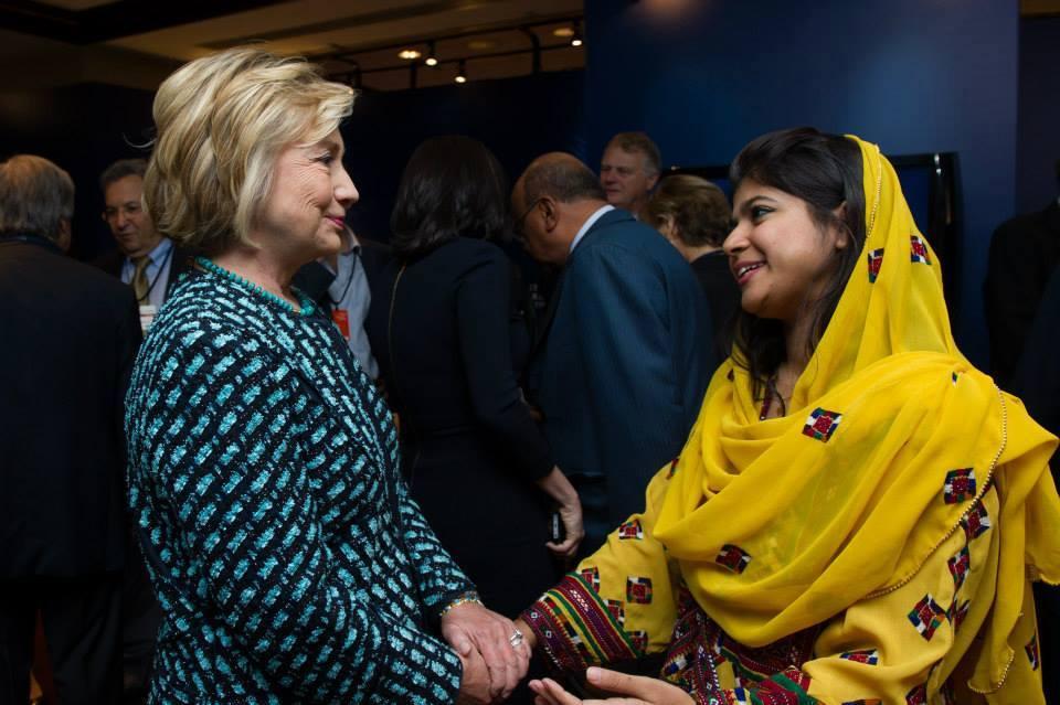 Khalida-Brohi-Hillary-Clinton
