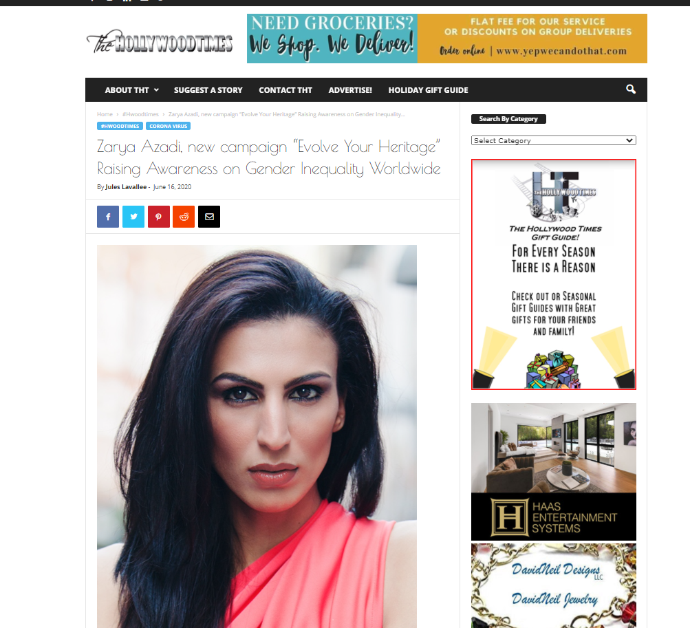 Zarya Azadi_1_Hollywood Times_16.06.2020