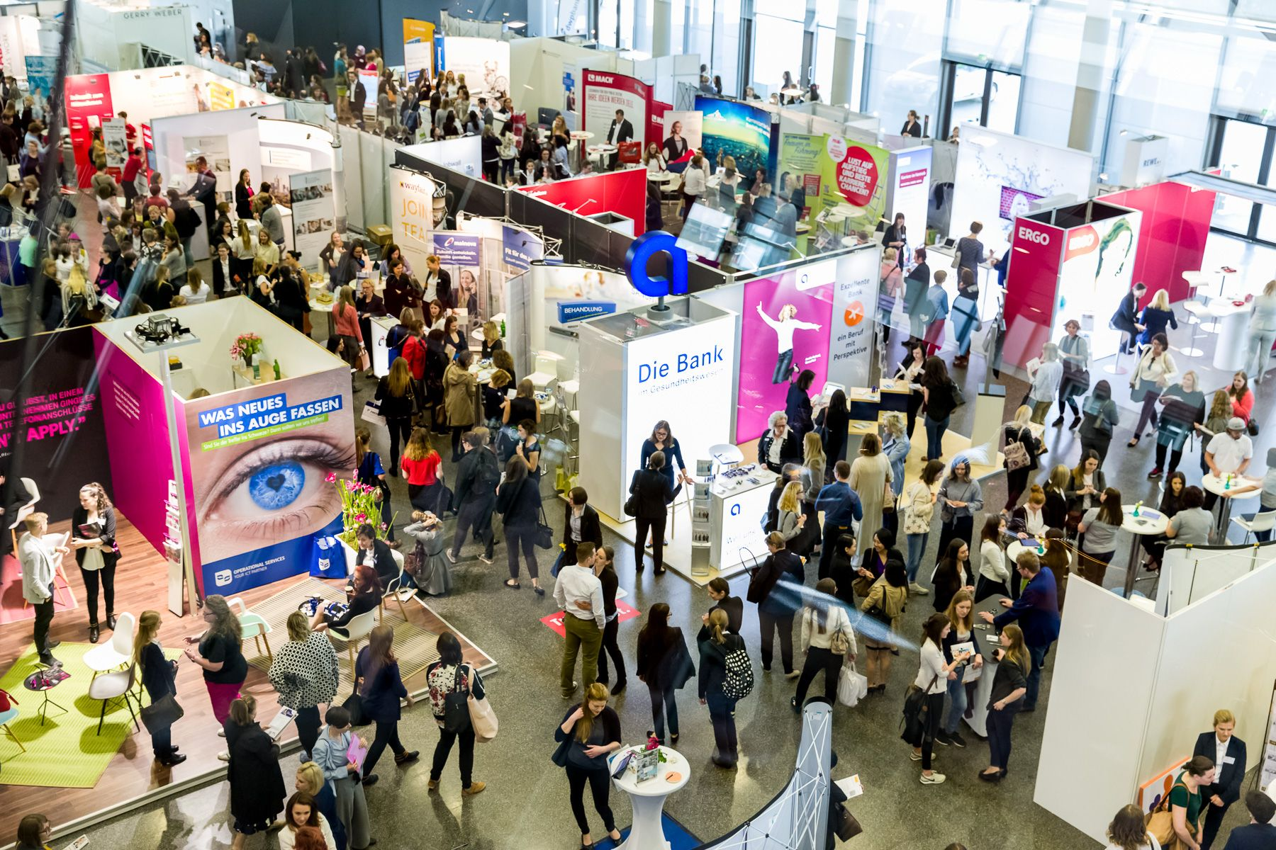 "FRANKFURT, GERMANY - MAY 04, 2019: Europe's largest trade fair congress ""woman&work"" (Picture © 2019 Courtesy of woman&work)"
